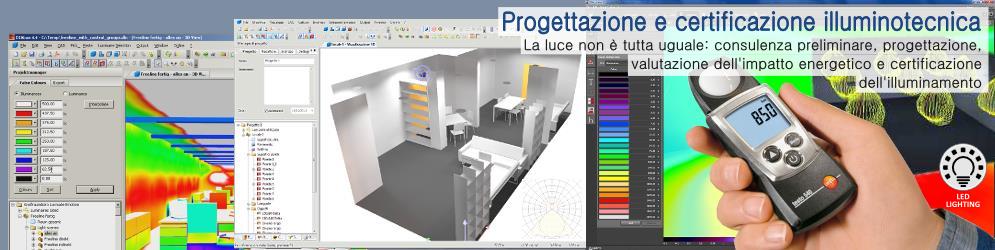 Banner_Progettazione e certificazione illuminotecnica