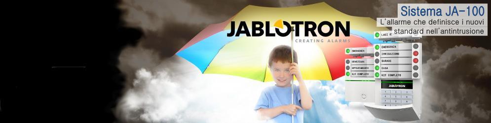 Banner_Sistema allarme Jablotron JA-100