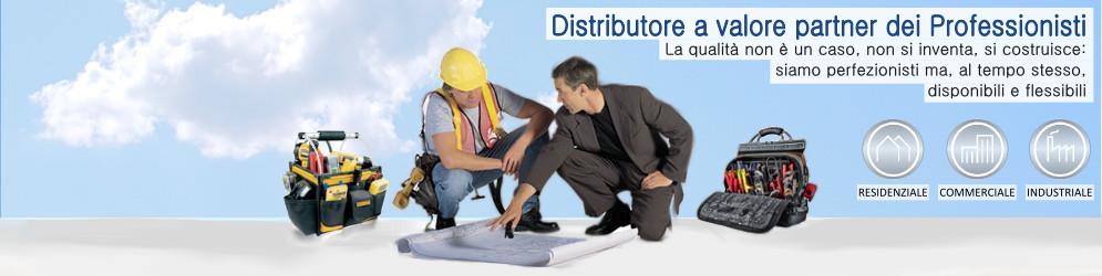 Immagine banner pagina landing per i Professionisti installatori impiantisti