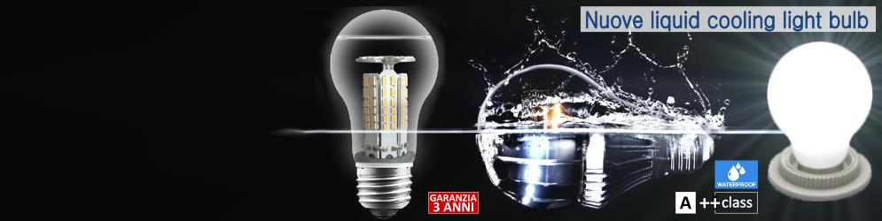 Banner Pagina PRODOTTI_Illuminazione a LED_Nuove E27 lampadina liquid cooling
