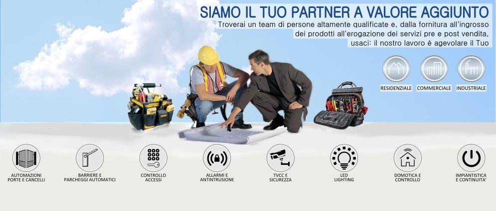 Immagine home page per i Professionisti Installatori Impiantisti